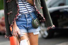 Street Style: Strange Days at Paris Couture - The Cut Miroslava Duma always gets it right!