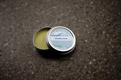 Mullein Breathe Easy salve.  Ingredients: wildcrafted mullein extract, organic oils of olive and sweet almond with essential oils of: rosemary, eucalyptus, scotch pine, cedarwood and lavender.