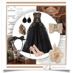 #Evening #Gown by http://style-list.biz  Join us on Facebook to get updates: https://www.facebook.com/stylelist.biz