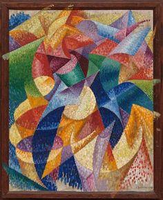 Peggy Guggenheim, Ben Day Dots, Gino Severini, Complex Art, Art Of Noise, Georges Braque, Georges Seurat, Italian Painters, High Art