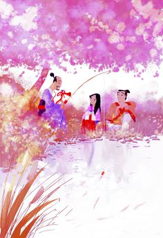 Mulan drawing