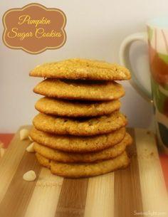 Pumpkin Cookies Recipe.