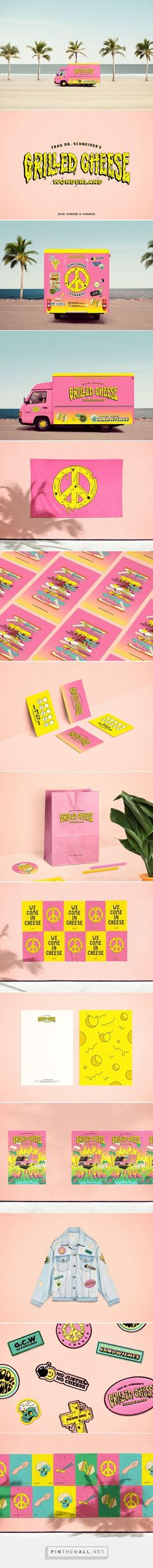 Grilled Cheese Wonderland on Behance... - a grouped images picture - Pin Them All