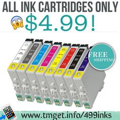 It's Back $4.99 ink cartridges and Free Shipping!! Read more details and Instructions at:  tmget.info/499inks follow the link in my Bio @Tomorrowsmom #tomorrowsmom #cosmicmothers #feminineenergy #loa #organic #fitmom #health101 #conscience #wakeupamerica #change #nongmo #organiclife #crunchymama #organicmom #gmofree #organiclifestyle #weareone #ecofriendly #savetheearth #familysavings #frugal #backtoschool #changesociety  #healthyhabits #lifechanging #fitpeople #couponcommunity  #healthyppl…