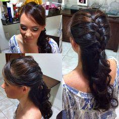 Make e penteado para casamento