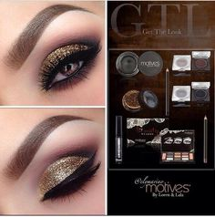 Love this look created with Beauty weapon palette, Onxy, Heiress ...