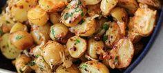 Πατάτες σοτέ με αρωματικά και σκόρδο