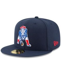 New Era New England Patriots Team Basic 59FIFTY Fitted Cap - Navy/Navy 8