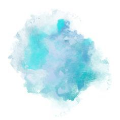 Blue Watercolor Splatters Vector Illustration Eps 10 In 2020