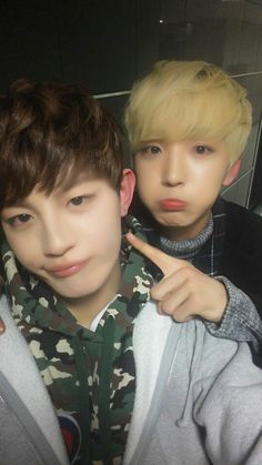 JINHOO AND SUNYOUL #UP10TION