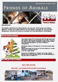 2013 nov/dec - http://everyoneweb.com/wa/DataFilesfriendsofanimals/nieuwsbriefnovdec13.pdf