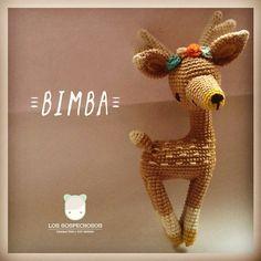 Bimba! #amigurumi #characterdesign #oneofakind #lossospechosos #deer