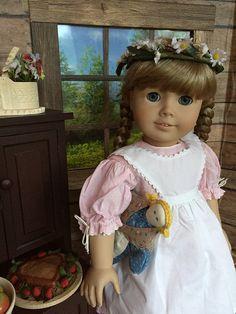 Happy Birthday, Kirsten!   by Foxy Belle Girl Dolls, Good Times, American Girl, Happy Birthday, Flower Girl Dresses, Wedding Dresses, Stitches, Inspiration, Fashion