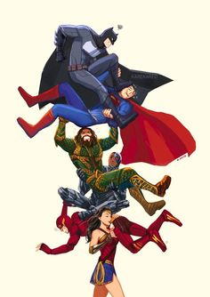 Wonder Woman's Justice League Marvel Dc Comics, Dc Comics Art, Marvel Vs, Comics Girls, Superman X Batman, Batman Arkham, Batman Art, Batman Robin, Robin Dc