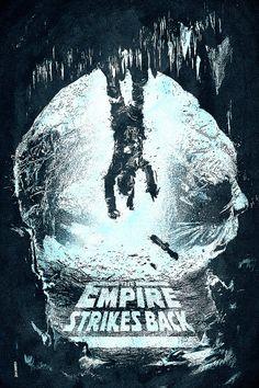 The Empire Strikes Back Artist Unknown