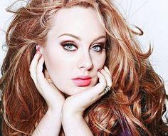 Adele...Love her beautiful voice!