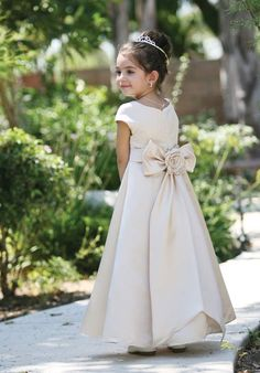 flower girl dress Tip Top Kids 5377 from The Knot :)