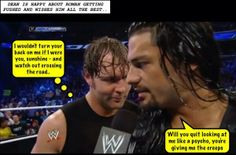 is dean feeling ok? Wrestling Memes, Watch Wrestling, Wwe Funny, Hilarious, Noodles And Company, Roman Reigns Dean Ambrose, The Shield Wwe, I Just Dont Care, Wwe Roman Reigns