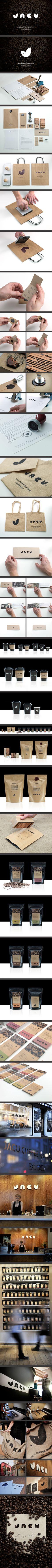 Jacu Coffee Roastery - Visual identity/Branding / Tom Emil Olsen