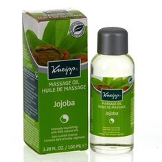"""Résultat de recherche d'images pour """"Huile de massage jojoba kneipp"""""""