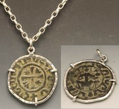 Ancient Armenian Coins: Medieval / Crusaders Armenian Coin Jewelry for Sale
