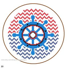 Hey, I found this really awesome Etsy listing at https://www.etsy.com/listing/173722824/instant-download-nautical-wheel-cross