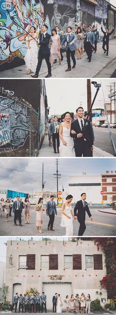 Millwick Wedding in Los Angeles Arts District