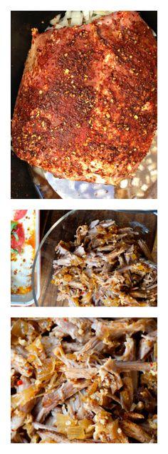 Crock Pot Pork Roast   ReluctantEntertainer.com #crockpot #pork