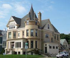 Former mansion | Flickr - Photo Sharing!  Interesting turret detail
