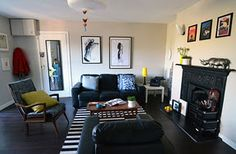 Playful living room make over