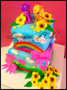 My Little Pony Cake - www.imagineitcake.com