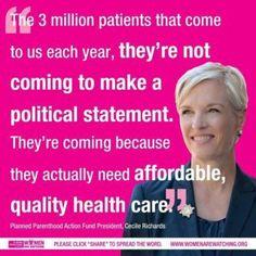 #Cecile #Richards #PlannedParenthood #HealthCare