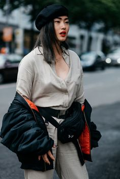 Herausragende Street-Styles der Berlin Fashion Week - VOGUE