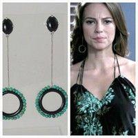 Brinco criado por Raquel Schiavon usado pela personagem de Paola Oliveira em Amor á Vida