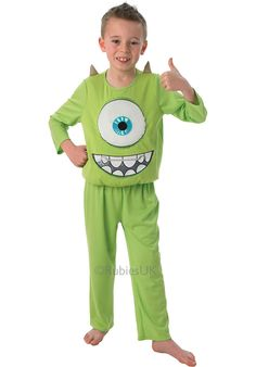 Child Mike Costume, Deluxe Monsters University Fancy Dress - General Kids Costumes at Escapade™ UK - Escapade Fancy Dress on Twitter: @Escapade_UK