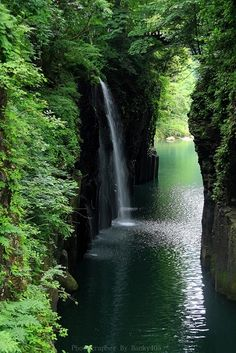 Takachiho Gorge, Japan – This is about as close to pure nature as it gets. #beautiful places #scenery #greenery