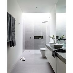 The stunning bathroom of the #Lubelso concept home by Melbourne's @cannygroup  if I ever build a house one day, I want these guys to do it - check out their account to see what I mean  | #Melbourne #cannygroup #bathroom #ensuite #style #design #designer #architecture #architects #australiandesign