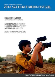 Call for Projectionists, SVA Film Festival, 2016 - Society for Visual Anthropology Festival 2016, Film Festival, Call For Entry, Video Film, Anthropology, Filmmaking, Career, American, Craft