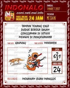 Rumus Taysen 6D Togel Wap Online Indonalo Medan 1 Maret 2017