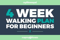 Want to get serious about walking for fitness? Challenge yourself to follow the 4-Week Walking Plan for Beginners from Leslie Sansone! #myfitnesspal