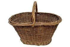 French Willow        Basket