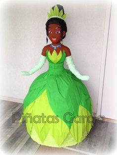 Disney Princess Tiana Pinata, the princess and the frog.