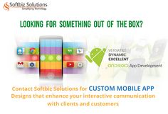 Mobile App Development Services: http://www.softbiztech.com/mobile-app-development.html