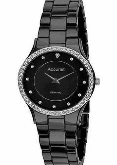 Accurist Ladies Black Ceramic Crystal Bracelet Watch - LB750S Accurist Ladies Black Ceramic Bracelet Watch - LB1750SB (Barcode EAN = 5033988030276). http://www.comparestoreprices.co.uk/ladies-watches/accurist-ladies-black-ceramic-crystal-bracelet-watch--lb750s.asp