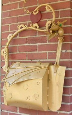 Varying Designs of Mailbox Ever pics) Funny Mailboxes, Unique Mailboxes, Steampunk House, Steampunk Fashion, You've Got Mail, Going Postal, Knobs And Knockers, Post Box, Mellow Yellow