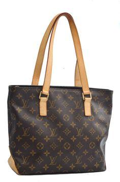 Louis Vuitton Cabas Piano Monogram Tote Shoulder Bag