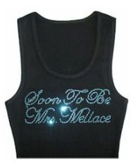 Personalized Soon To Be Mrs Tank Top or T-Shirt Custom Wedding Apparel - Bride - Groom - Wedding Party - Parents Custom Rhinestone Bride Tank Top or Wedding Groom, Bride Groom, Bride To Be Quotes, Bride Tank Tops, Mrs Shirt, Custom Shirts, Tank Man, Engagement Parties, Party