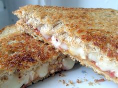 Peanut butter grilled cheese. Try with Wild Friends sesame cranberry ...