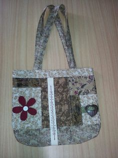 """Lovely """"Tote Bag"""" made by """"Mim"""""""