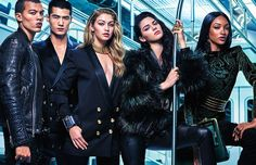 Balmain x H&M: #HMBalmaination is coming